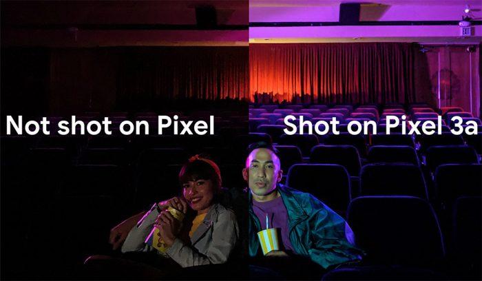 Google Pixel 3a Nachtsicht