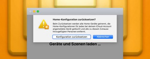 Homekit Fehler Feature