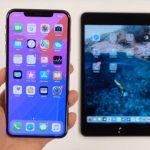 Ipad Mini Iphone Xs Max Vergleich Bildschirm