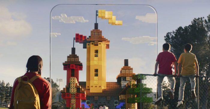 Minecraft Earth Schloss
