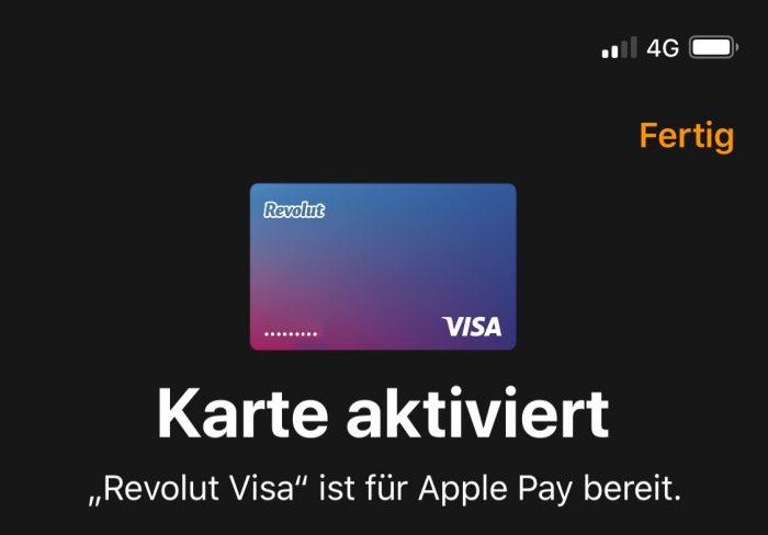 Revolut Visa Large