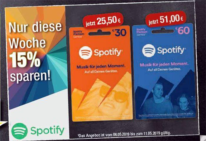 Spotify Karten Bei Edeka