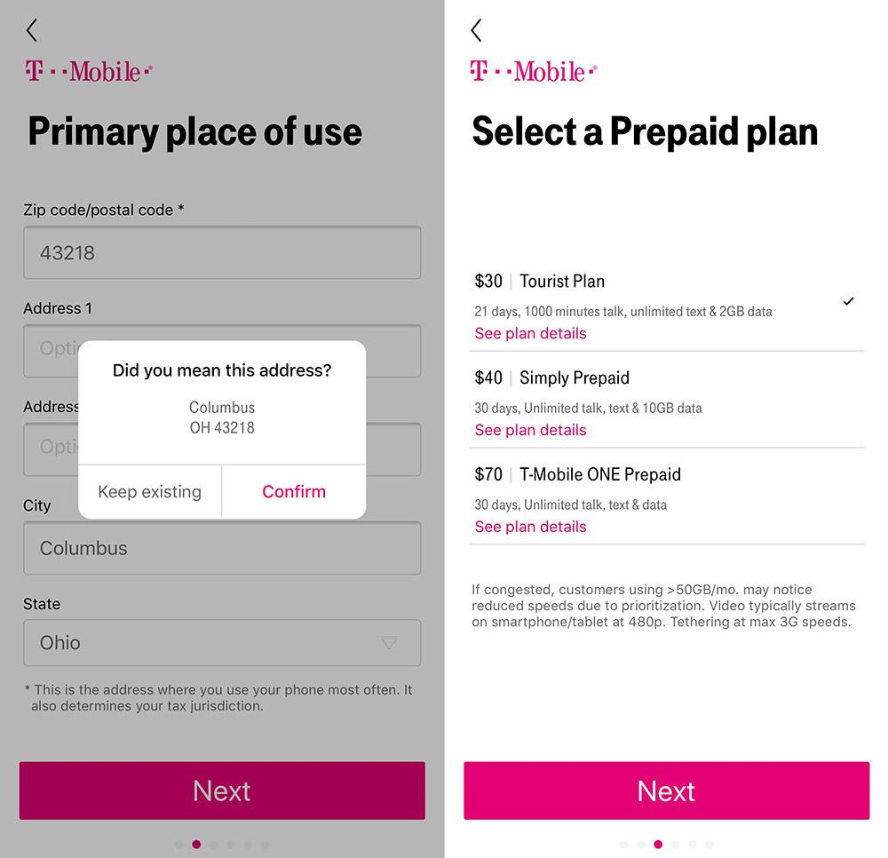 Iphone Im Usa Urlaub Prepaid Tarife Von T Mobile Als Esim