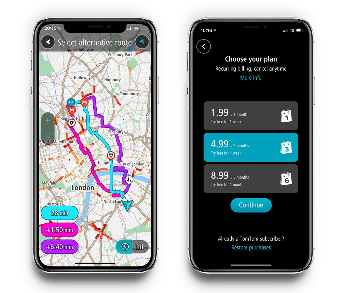 Tomtom Go Navigation Carplay Und Weitere Neue Funktionen Iphone