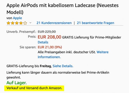 Airpods Bei Amazon
