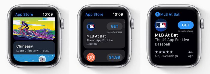 Apple Watch Watchos 6 App Store