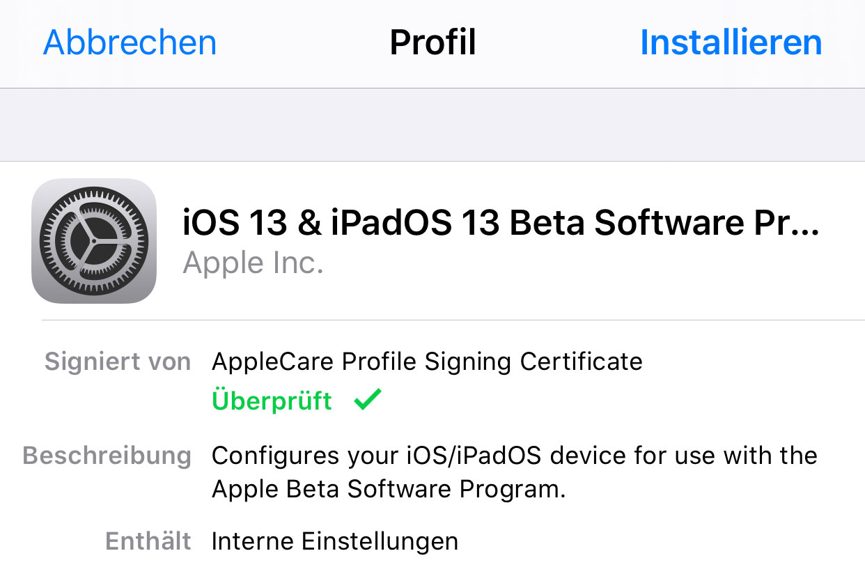 iOS 13: Apple gibt Beta 2 zum Download frei › iphone-ticker de