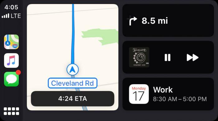 Carplay Ankunftszeit