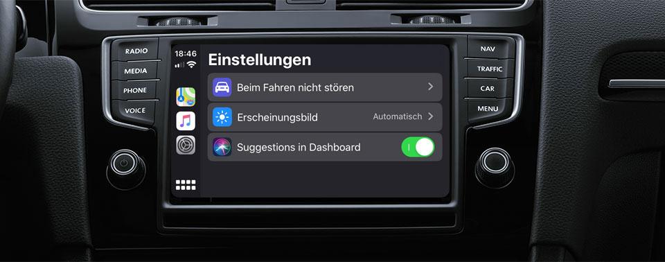 Neu in iOS 13: CarPlay mit Cover- und frischer Dashboard-Ansicht