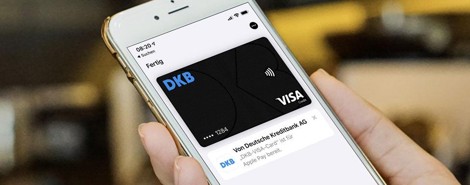Apple Pay: Nachzügler DKB ist jetzt mit dabei
