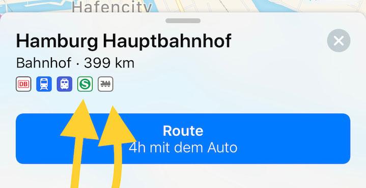 Hamburg Hauptbahnhof Karte.Hamburg Hannover Leipzig Köln Apple Karten Vor öpnv Ausbau