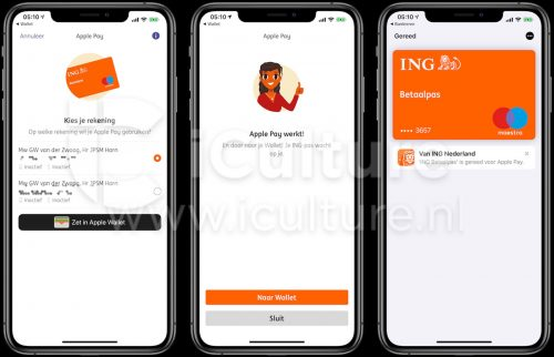 Ing Niederlande Apple Pay