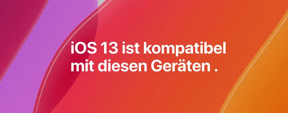 Bereit für iOS 13: Diese iPhone-Modelle werden unterstützt