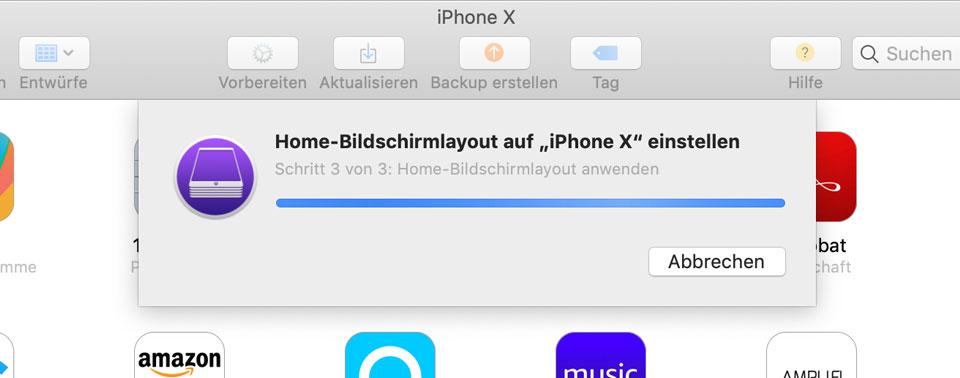 Apple Configurator: iPhone-Apps mit der Maus sortieren
