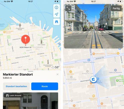 Karte Street View