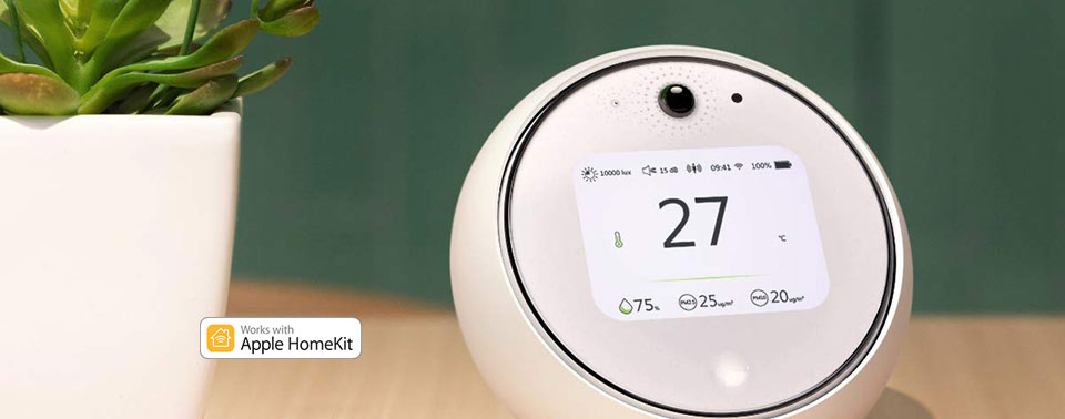 HomeKit-Umweltmonitor startet: Koogeek Smart Environment Monitor