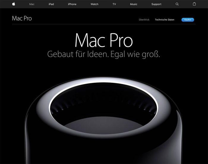 Mac Pro Tischmuelleimer