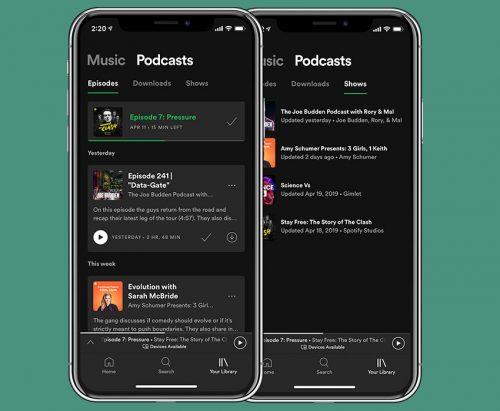 Spotify Musik Podcast