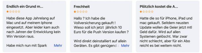 Airmail Nutzer Kritik Abo