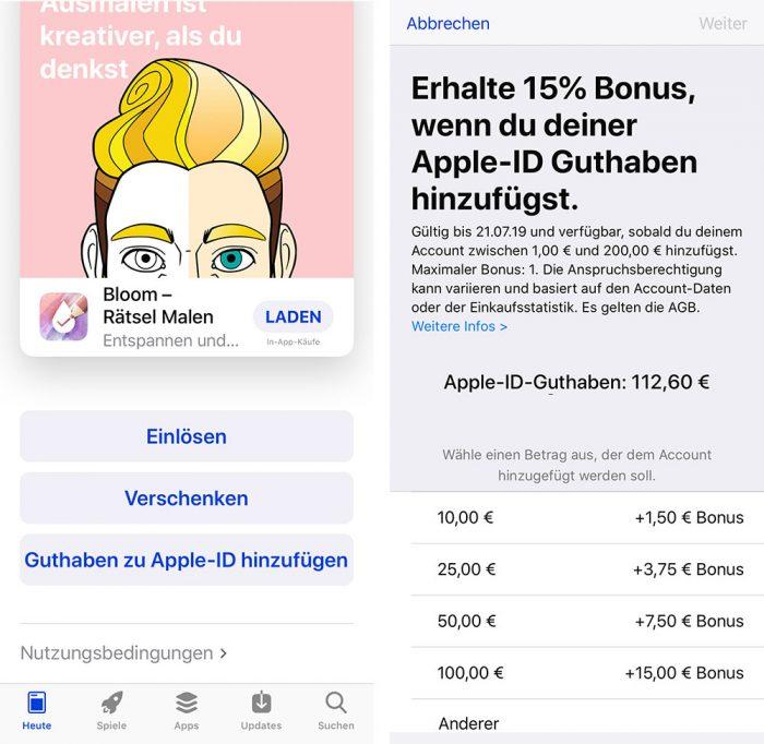 Apple Id App Store Guthaben Kaufen