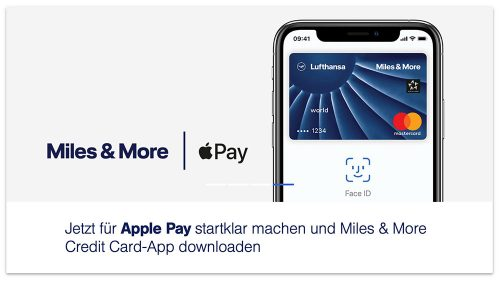 Apple Pay Mit Lufthansa Miles And More Karte