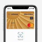 Apple Pay mit Miles & More Card: Starttermin rückt näher