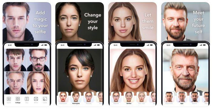 Face App Screenshots