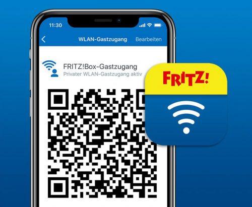 Fritz App Gastzugang Qr Code