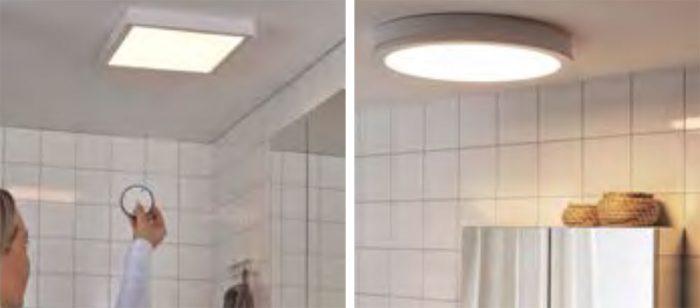 Ikea Gunnarp Badezimmer Leuchte