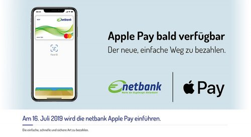 Netbank Apple Pay Ankuendigung