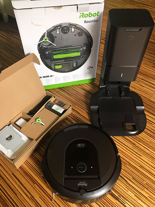 Roomba I7 Plus Lieferumfang