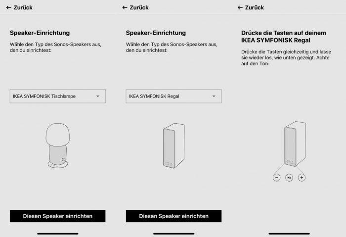 Symfonisk Einrichtung Sonos Ikea