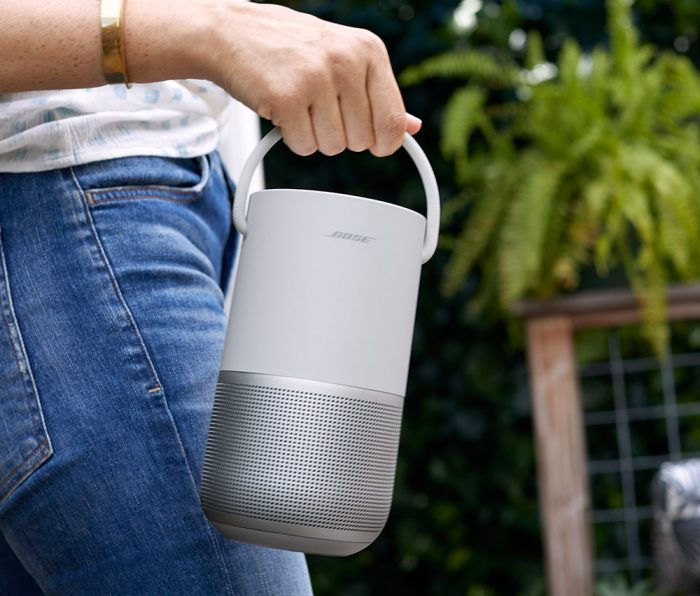 Portable Home Speaker Silver