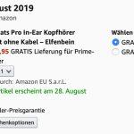 Amazon Powerbeats Lieferung