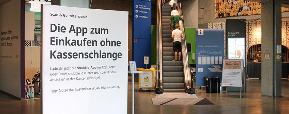 Selbstbedienungskasse Snabble: IKEA testet iPhone-Checkout
