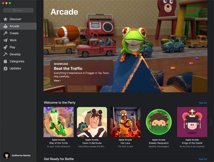 Apple Arcade Spiel
