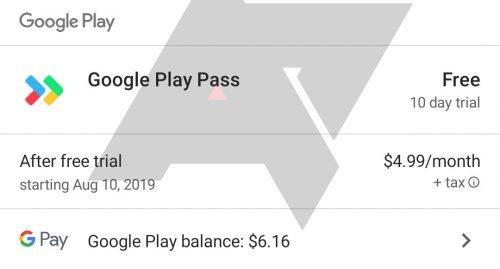 Google Play Pass Abo