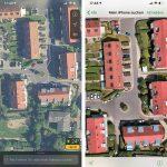 Iphone Suche Vs Karten Satellitenbilder
