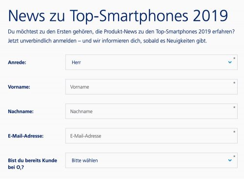 O2 Top Smartphone News 2019