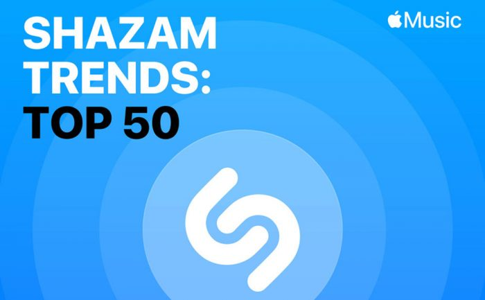 Shazam Trends