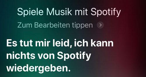 Siri Spotify