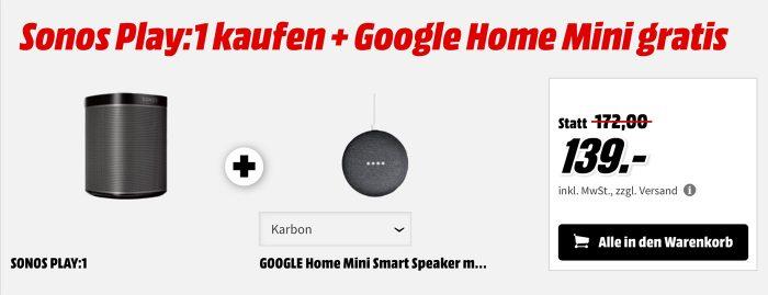 Sonos One Aktion Mediamarkt