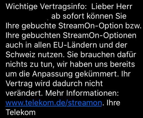 Telekom Eu Anpassung Streamon