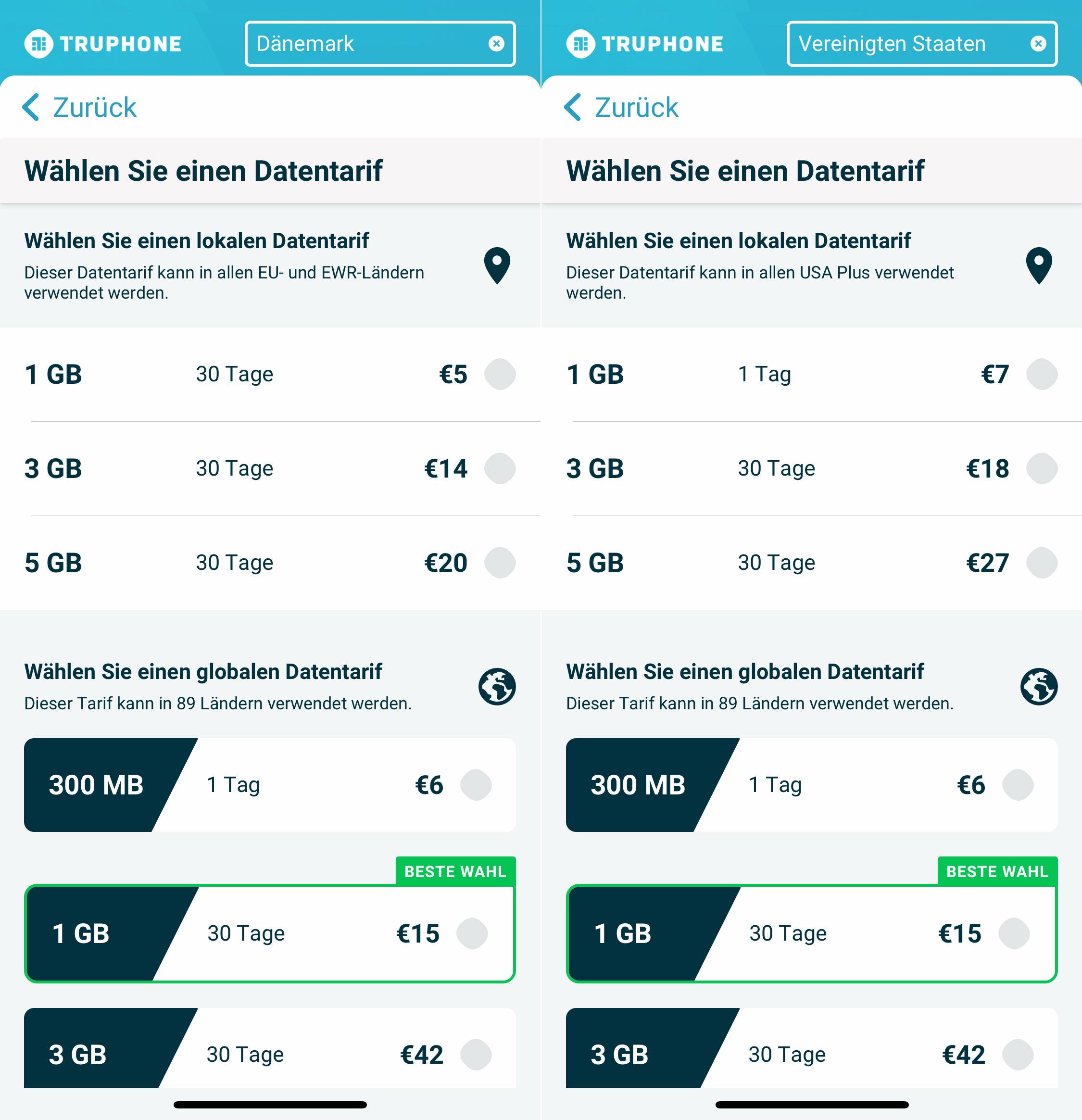 Esim Per App Truphone Bietet Neue Tarife Iphone Ticker De