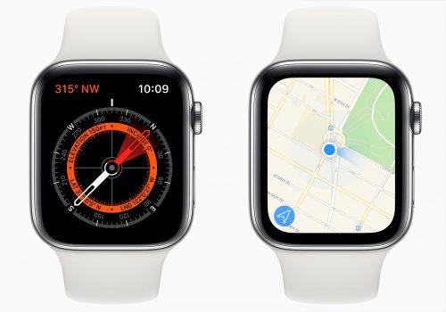 Apple Watch Series 5 Kompass