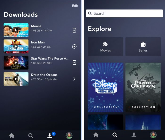 Explore Disney Plus