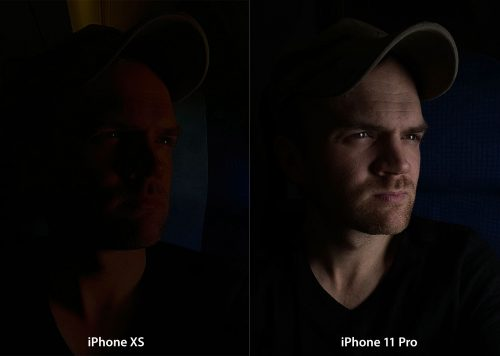 Iphone 11 Pro Nacht Gesicht