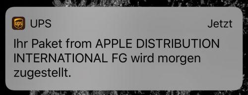 Iphone 11 Versand Bestaetigung