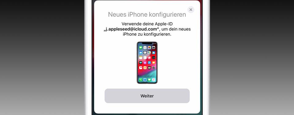 Apple erklärt: Vorhandene Daten auf neues iPhone übertragen