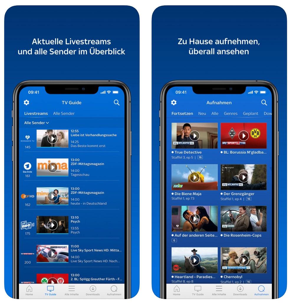 Sky Q Apps
